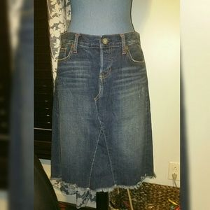 Gap limited edition sz M, denim skirt, like-new